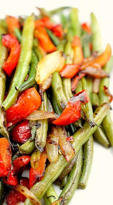 Green Beans Asian Style - (Free Recipe below)