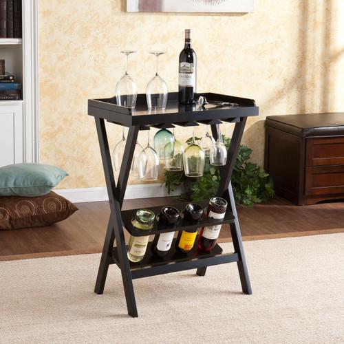 Wine Tray Table Bar Server