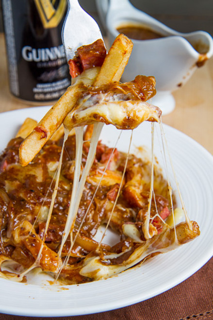 Corned Beef Poutine with Guinness Gravy - (Free Recipe below)