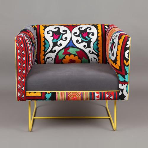 Suzani Box Chair