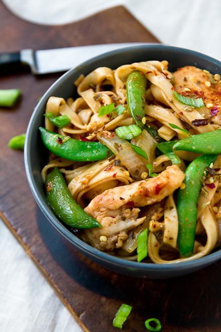 Chicken Lo Mein - (Free Recipe below)