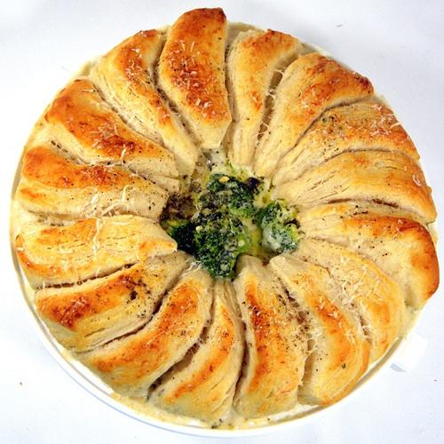 Chicken Alfredo Biscuit Bake - (Free Recipe below)