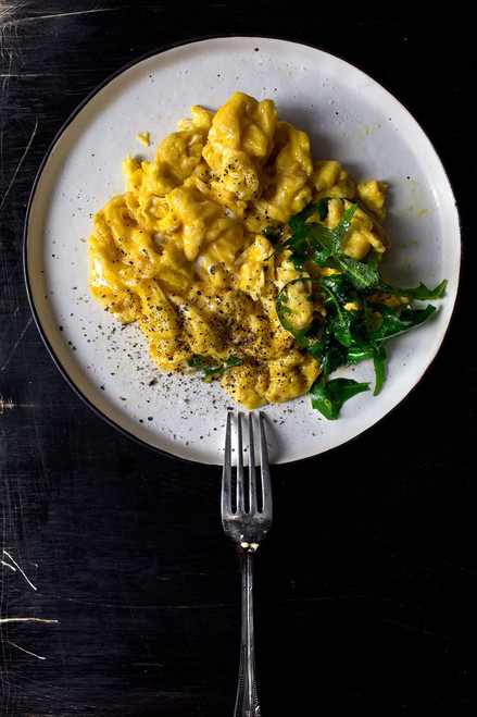 Creamy Perfect Scrambled Eggs - (Free Recipe below)