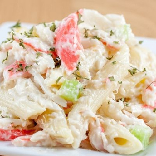 Seafood Pasta Salad - (Free Recipe below)