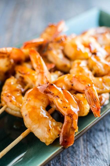 Raspberry Chipotle Shrimp - (Free Recipe below)