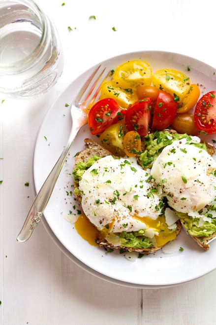 Simple Poached Egg and Avocado Toast - (Free Recipe below)