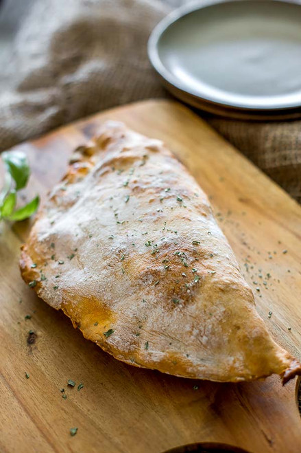 HAM AND CHEESE BREAKFAST CALZONE - (Free Recipe below)