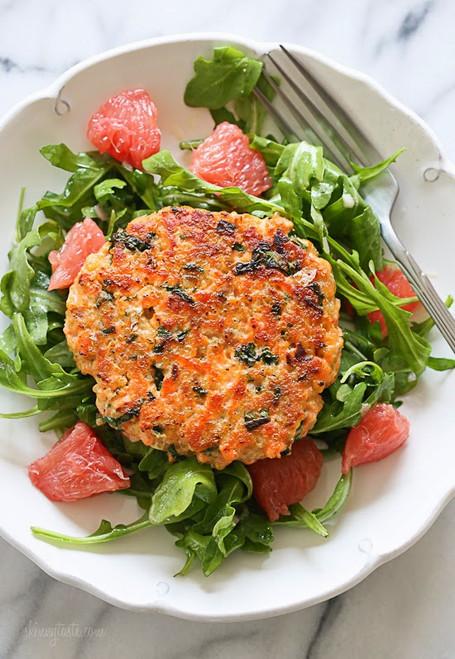 Salmon Quinoa Burgers - (Free Recipe below)