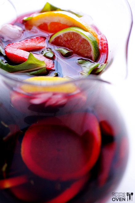 The Best Sangria - (Free Recipe below)