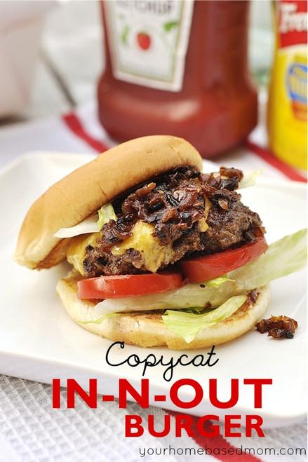 In N Out Burger - (Free Recipe below)