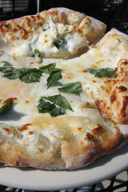 Pizza Blanca / White Pizza - (Free Recipe below)