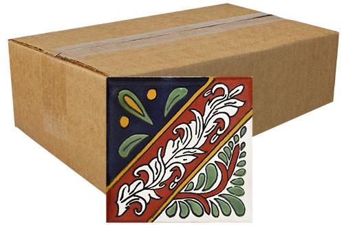 """Talavera Tile - TIL052 - Box of 360 -  2"""" x 2"""""""