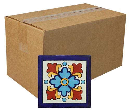 """Talavera Tile - TIL226A - Box of 90 -  4"""" x 4"""""""