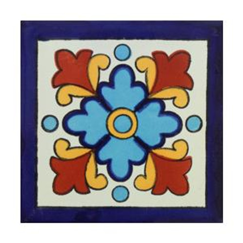 "Talavera Tile - TIL226A - Box of 40 -  6"" x 6"""