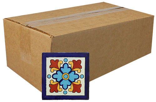 "Talavera Tile - TIL226A - Box of 360 - 2"" x 2"""