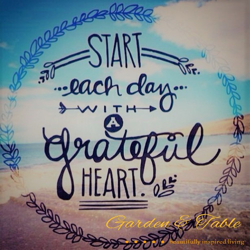 Start each day with a grateful heart! #Quotes