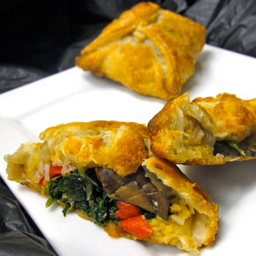 Vegetable Wellington Entree - 12 pieces per tray