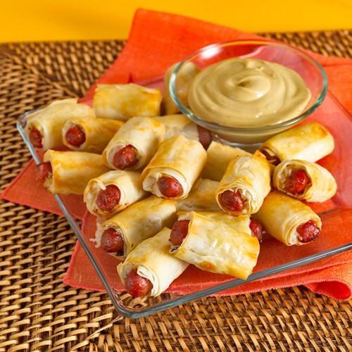 Coney Island Mini Hotdogs - 48 pieces per tray
