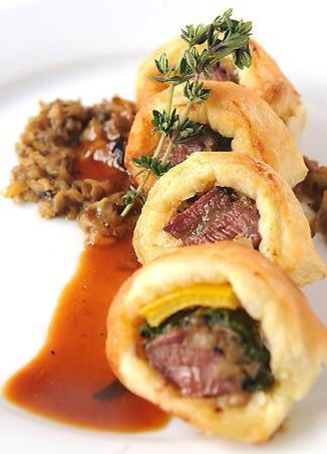 Beef Wellington - 50 pieces per tray