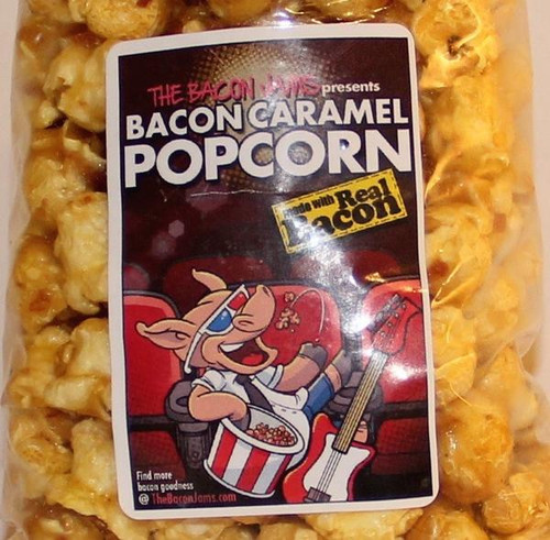 BACON CARAMEL CORN - The Bacon Jams