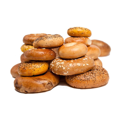 New Yorker Mini Bagels - 36 Kettle-boiled Mini Bagels - select flavors