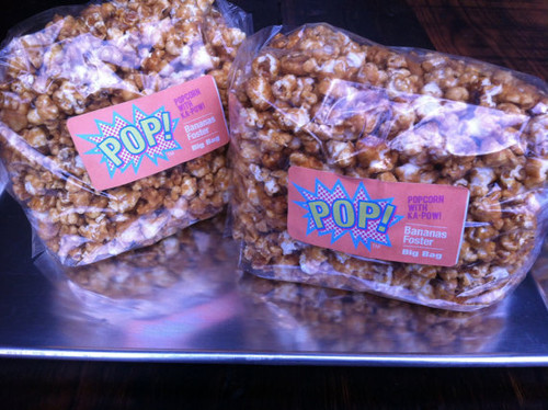 Big Bag Bananas Foster Caramel Corn Gourmet Popcorn