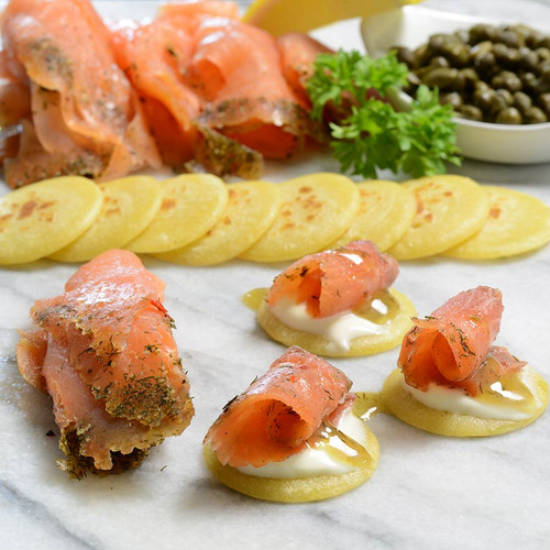 Norwegian Smoked Salmon Trout Superior Sliced - 2.2 lbs