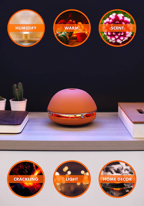 Egloo - Eco-Friendly Candle Power Heater, Humidifier - many designs, scents available