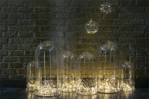 "LED Orb Ornament - 5.5"" & 6"" sizes"