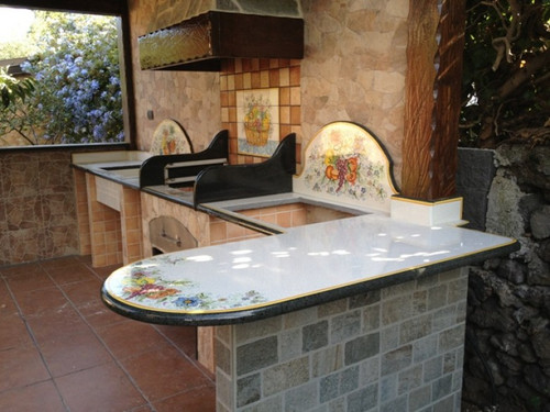 Italian Volcanic Lava Stone Countertops / Kitchen Islands - custom orders