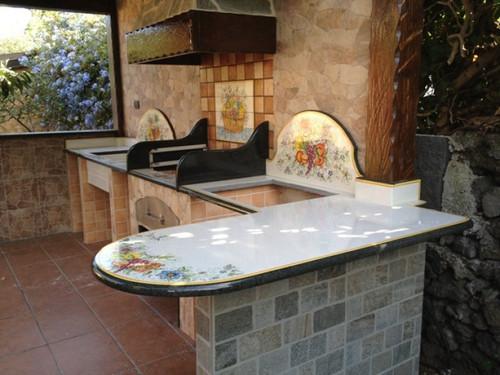 Italian Volcanic Lava Stone Countertops / Kitchen Islands - custom orders
