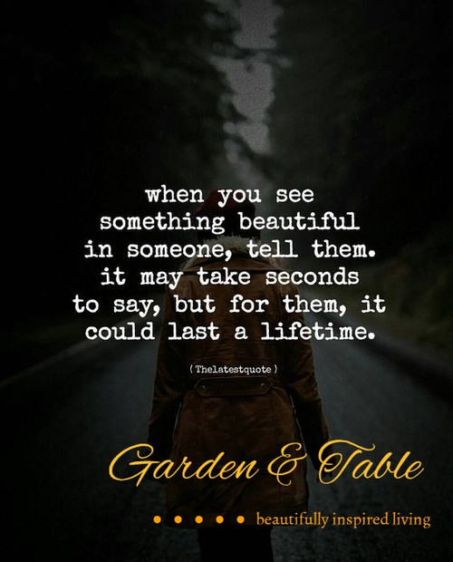 When You See Something Beautiful quote .... #Quotes
