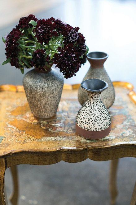 "Chia Bud Vase Collection - 5""- 3 sizes available"