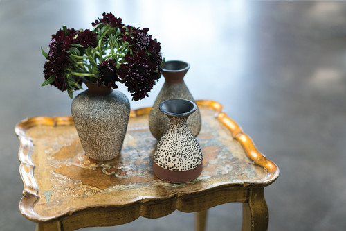 """Chia Bud Vase Collection - 4.5"""" x 6""""- 3 sizes available"""