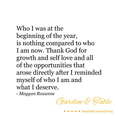 Who I was at the beginning of the year  .... #Quotes