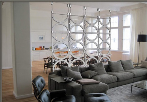 """Circles 16"" Extra Large Hanging Room Divider"