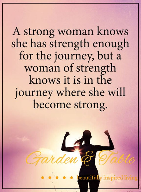 A strong woman knows she has strength .... #Quotes