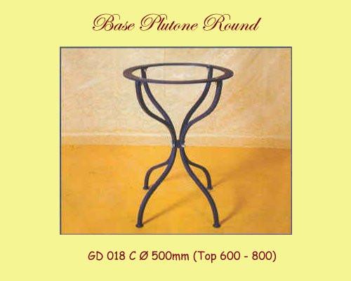 Plutone Wrought Iron Table Base - multiple sizes available