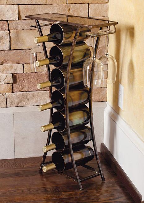 Metal Contempo Wine Table