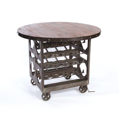Napa Wine Cellar Table