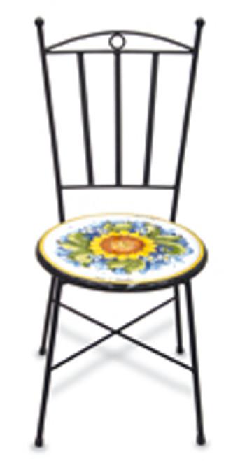 Italian Ceramic Iron Chair - Custom designs