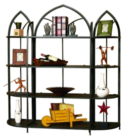 Iron Cathedral Abbey Shelving Unit