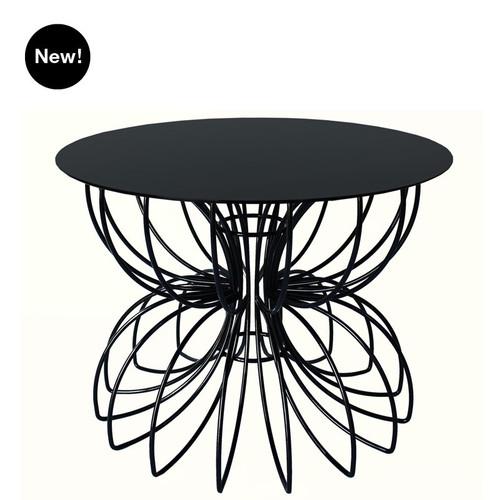 Ribbon Accent Table - Short - Black or White
