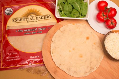 Essential Organic Pizza Crust - Case of 8