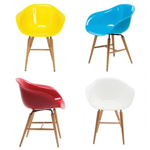 Waterfall Armchair - multiple colors