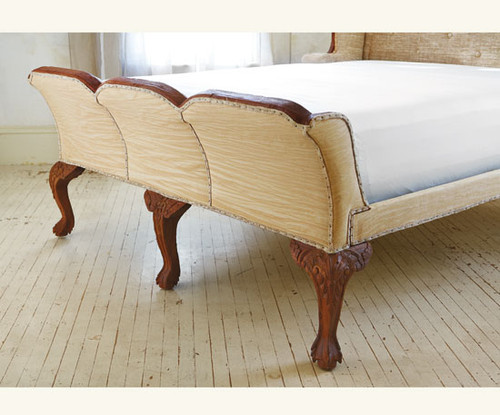 Empire Mahogany Sleigh Bed - Queen or King