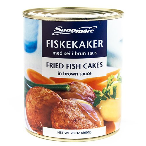 Fiskekaker Fried Fish Cakes - Husmor Fish Cakes from Norway