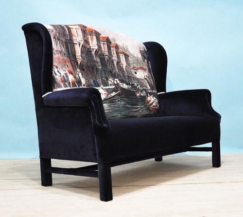 Bosphorus Wing Back Sofa