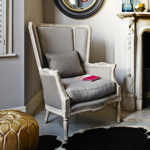 Montpellier Stripe Wing Chair