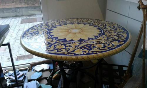 Danielle Lava Table, custom designs available